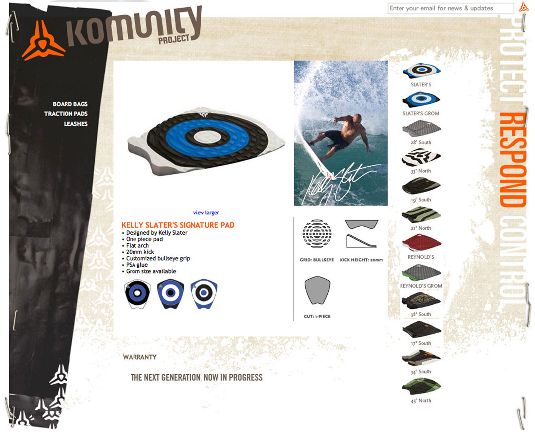 komunity-website-traction pads