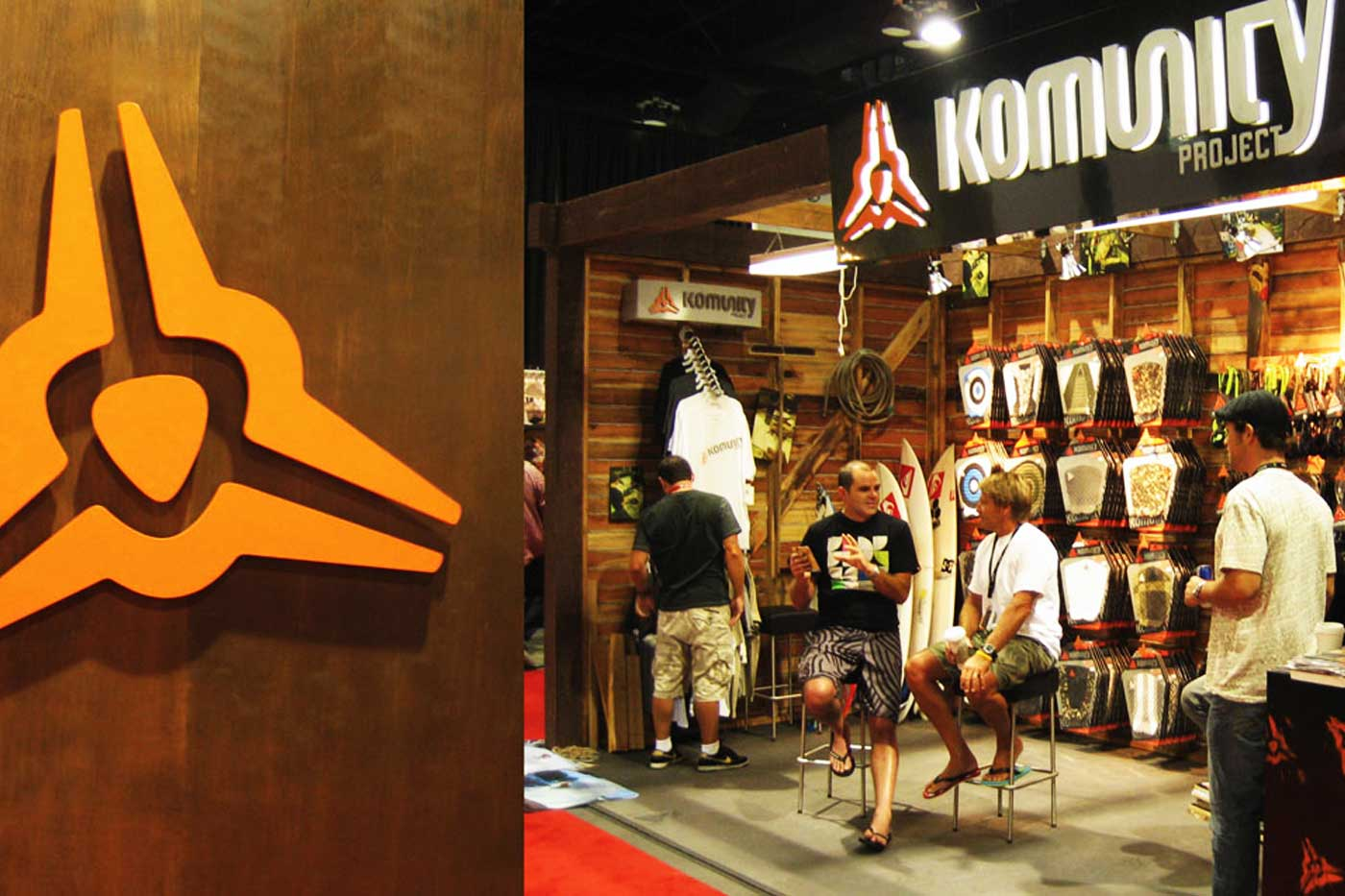 sporting goods trade show booth design